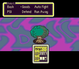 Earthbound - Im killing A TREE???????? - User Screenshot